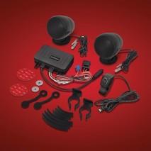 Černý Bluetooth stereo systém