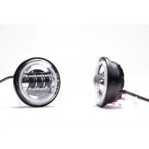 LED přídavná světla s Angel eye k hlavním světlometům pro Harley Davidson