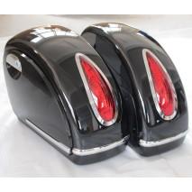 Boční plastové kufry HARD BAG s integrovanými koncovými světly
