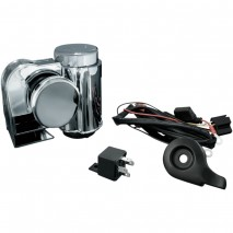 Kuryakyn Deluxe Wolo Bad Boy Air Horn Kit