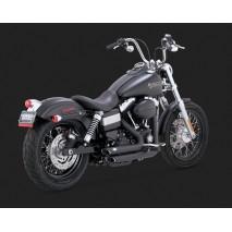 Vance & Hines výfuk SHORTSHOTS STAGGERED BLACK Harley Davidson
