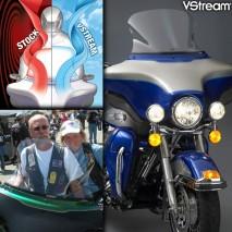 Čiré plexisklo VStream Harley Davidson