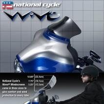 Kouřové plexisklo Wave Harley Davidson