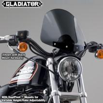 Polohovatelné kouřové plexisklo Gladiator Harley-Davidson