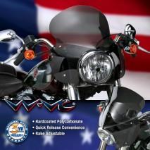Kouřové plexisklo STINGER Harley-Davidson Softail