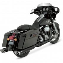 Černé výfuky Vance & Hines pro Harley Davidson