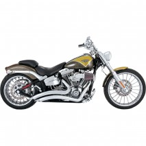 Chromovaný Vance & Hines výfuk BIG RADIUS 2-INTO-2 Harley Davidson