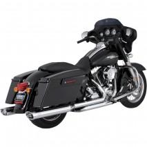 Chromovaný Vance & Hines výfuk DRESSER DUALS Harley Davidson