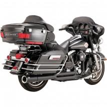 Černý Vance & Hines výfuk PRO PIPE BLACK Harley Davidson