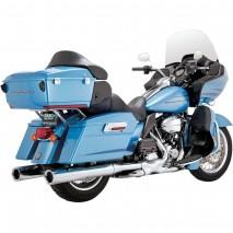 Chromovaný Vance & Hines kryt výfuku POWER DUALS Harley-Davidson