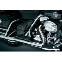 Chromované kryty prostřední části rámu Harley Davidson