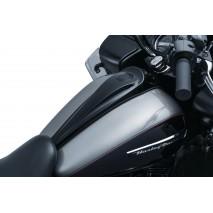 Černý kryt na nádrž Harley-Davidson