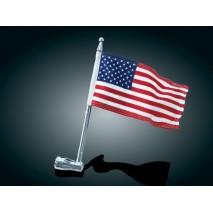 Držák vlajky s vlajkou USA