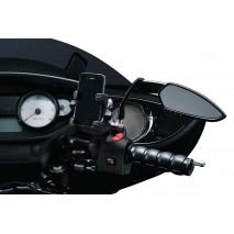 Gloss Black ISO® ručky Harley Davidson