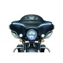 Rámeček předního světla s LED kroužkem Harley Davidson