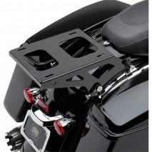 Lesklý černý nosič pro horní kufry Harley-Davidson