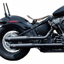 "Homologavané 3"" koncovky výfuků Harley-Davidson Softail"