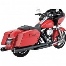 Černé Vance & Hines výfuky HI-OUTPUT BLACK Harley-Davidson