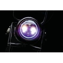 """Orbit Prism+ 7"""" LED HLavní světlomet s RGB Angel Eye"""
