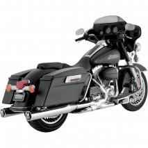 Chromovaný Vance & Hines výfuk MONSTER ROUNDS Harley Davidson