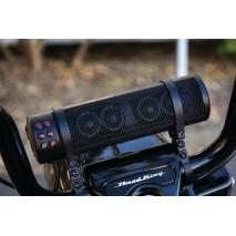 Černý reproduktor RoadThunder® s bluetooth ovladačem MTX®