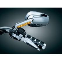 Chromované kryty s LED osvětlením Harley Davidson