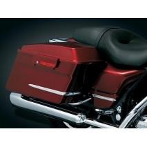 Chromované kryty bočních kufrů Harley Davidson