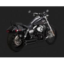 Vance & Hines Výfuk EC TWIN SLASH SLIP-ONS BLACK Harley Davidson