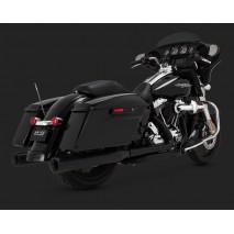 Černé Vance & Hines koncovky výfuku ELIMINATOR 400 BLACK pro Harley-Davidson