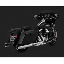 Chromovaný Vance & Hines výfuk OVERSIZED 450 DESTROYER pro Harley-Davidson