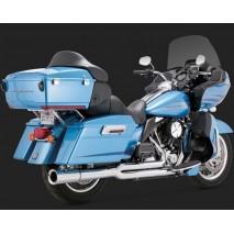 Chromovaný Vance & Hines výfuk PRO PIPE CHROME Harley-Davidson