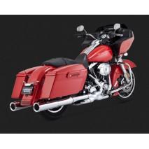 Chromovaný Vance & Hines výfuk HI-OUTPUT SLIP-ONS Harley-Davidson