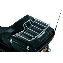Chromovaný nosič na horní kufr Harley-Davidson