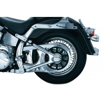 Chromovaný kryt rámu Boomerang Harley Davidson